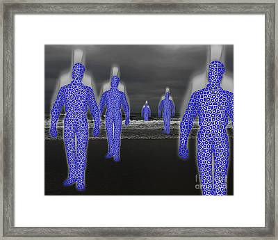 Dream Travelers Framed Print by Keith Dillon