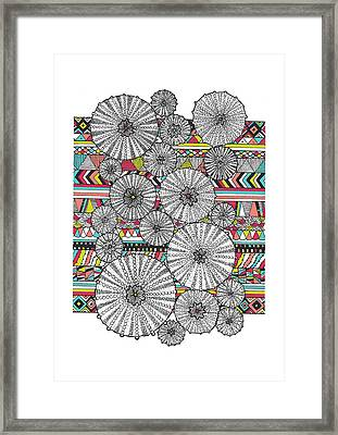 Dream Urchin Framed Print by Susan Claire