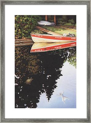 Dream Vacation Framed Print by Amy S Turner