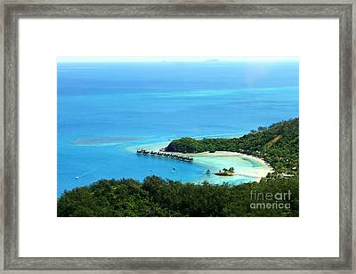 Dream Vacations Framed Print by Lars Ruecker