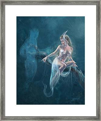 Dream Weaver Framed Print by Drazenka Kimpel