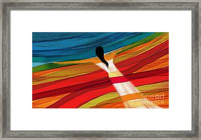 Dream Weaver Framed Print by Hilda Lechuga