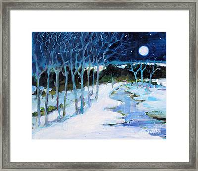 Dream Winter Framed Print
