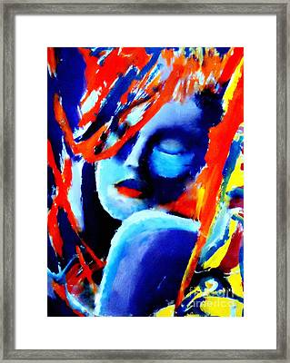 Dream Within A Dream Framed Print by Helena Wierzbicki