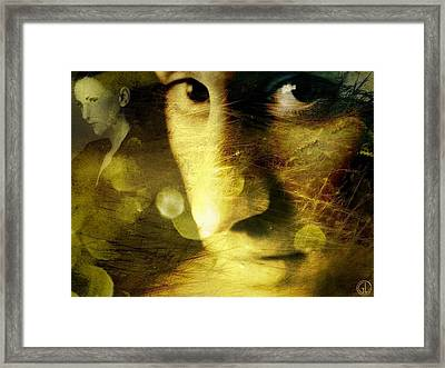 Dreambubbles And Sawteeths Framed Print by Gun Legler