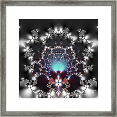 Dreamcatcher And Fireflies Framed Print by Renee Trenholm