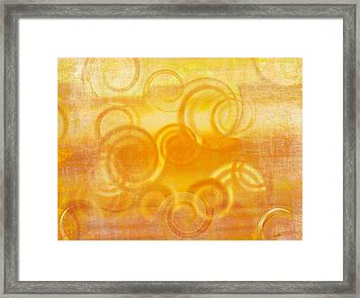 Dreamcicle Framed Print by Brenda Bryant