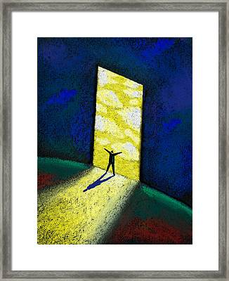 Discovery Framed Print by Leon Zernitsky