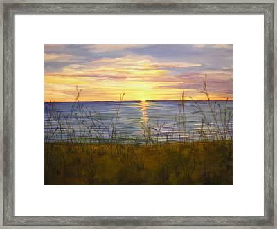 Dreamers Sunrise Framed Print by Cheryl Damschen