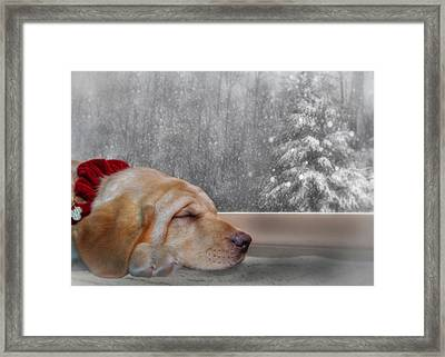 Dreamin' Of A White Christmas 2 Framed Print by Lori Deiter