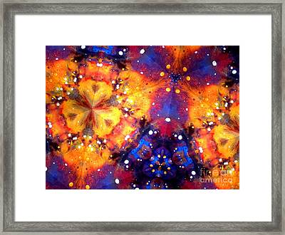 Dreaming A New Reality Framed Print by Denise Nickey