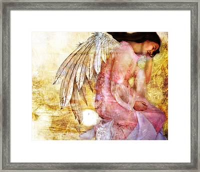 Dreaming Angel Framed Print