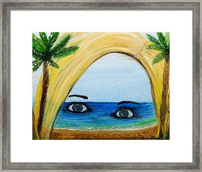 Dreaming At Work Framed Print