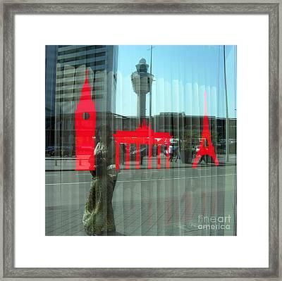 Dreaming... Autoportrait Framed Print by Ausra Huntington nee Paulauskaite