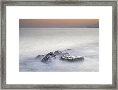 dreaming between the islands I Framed Print