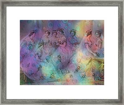 Dreaming Digital Artwork Framed Print