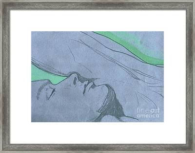 Dreaming Framed Print by First Star Art