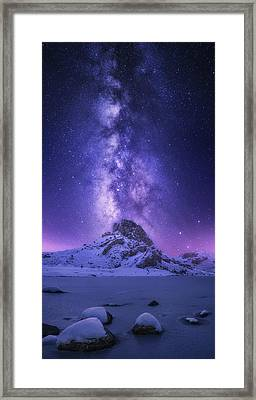 Dreaming Light Framed Print