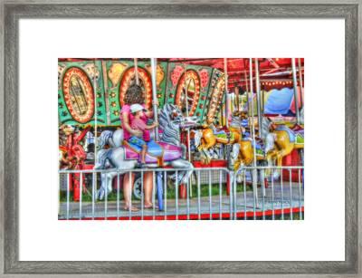 Dreaming Of Carousels Framed Print