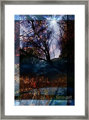Dreaming Of Fall Framed Print by Allison Ashton