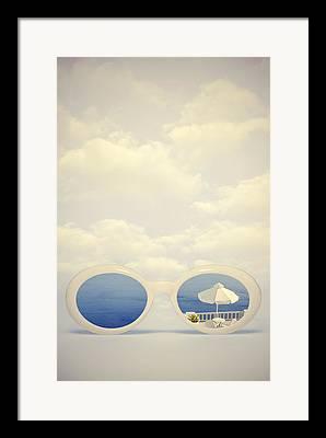 Sunglasses Photographs Framed Prints