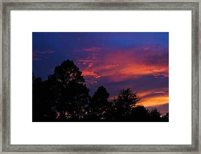 Dreaming Of Mobile Framed Print by Julie Andel
