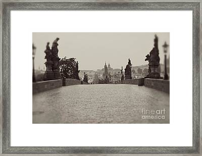 Dreaming Of Prague Framed Print