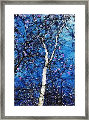 Framed Print featuring the digital art Dreaming Of Spring by David Lane