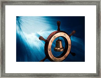 Dreaming Of The High Seas 1 Framed Print