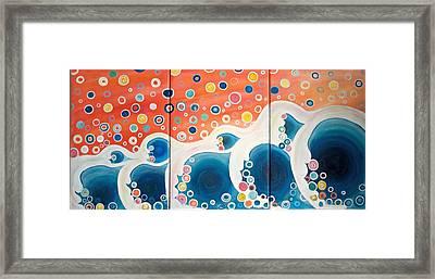 Dreaming Of The Ocean Framed Print