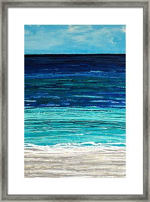 Dreaming Of The Sea Framed Print