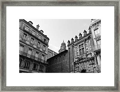Framed Print featuring the photograph Dreaming Of Toulouse by Cendrine Marrouat