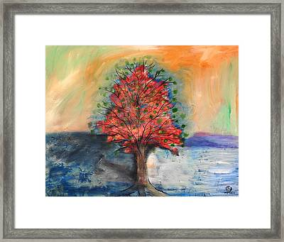 Dreaming Of Trees Framed Print by San Con