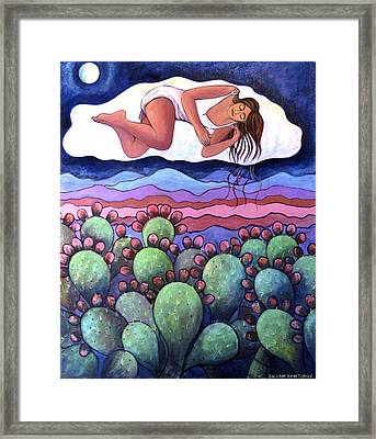 Dreaming Over The Charco Framed Print