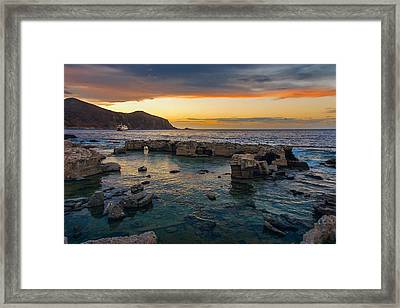 Dreaming Sunset Framed Print
