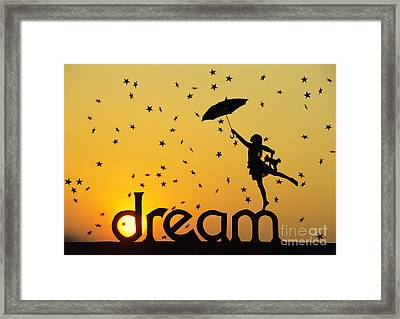 Dreaming Framed Print by Tim Gainey