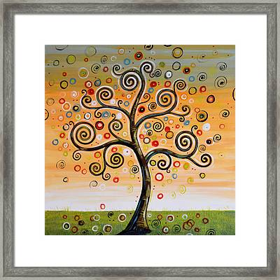 Dreaming Tree Framed Print by Amy Giacomelli