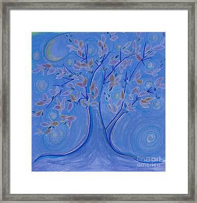Dreaming Tree By Jrr Framed Print