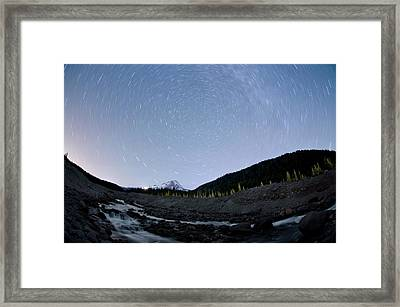 Dreaming Under The Stars Framed Print