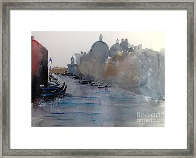 Dreaming Venice Framed Print by Gianni Raineri