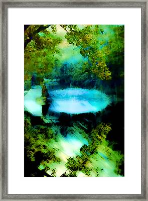 Framed Print featuring the digital art Dreamland by Catherine Lott