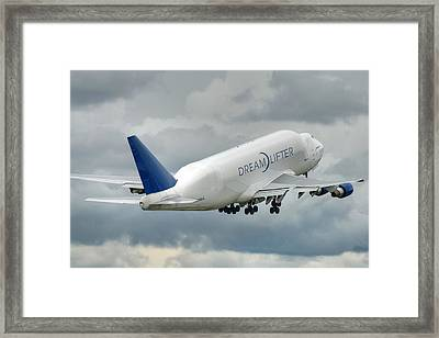 Dreamlifter Takeoff 2 Framed Print by Jeff Cook