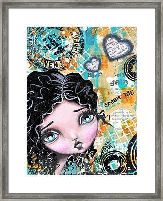 Dreams 6 Framed Print by Lizzy Love of Oddball Art Co