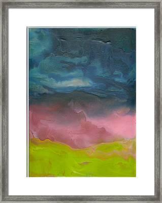 Dreams Afar Framed Print by Trish Tinsley