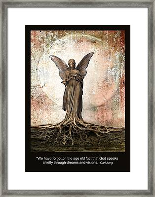 Dreams And Visions Framed Print by Rick Mosher