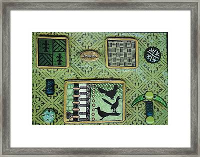 Dreams Collage Framed Print