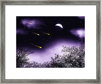 Framed Print featuring the painting Dreams Come True by Persephone Artworks