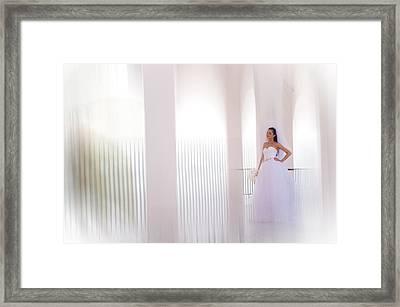 Dreams Coming True. Impressionism Framed Print by Jenny Rainbow