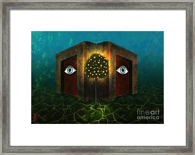 Dreams Do Not Sleep Framed Print