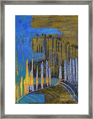 Dreams Of Field Framed Print by R Kyllo